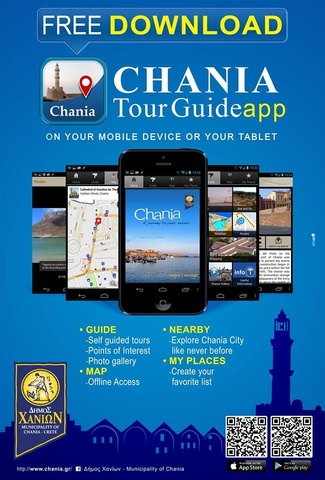Poster Chania tour Guide